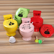 OXGIFT Wholesale Funny Toilet Ceramic Coffee Cup Personalized Ice Cream Reusable Mug Cup