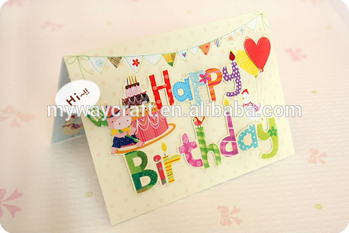 Pop Up Hand Made Birthday Greeting Cards Buy Hand Made Greeting