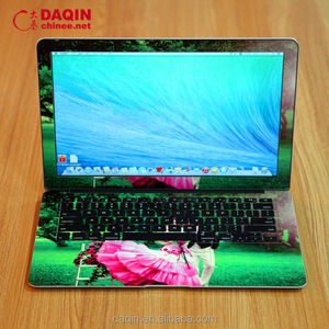 making and designing your owen laptop skin with daqin templates software