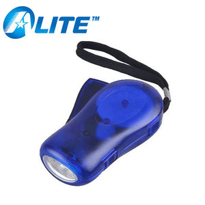 Dynamo Lamp Hand Press Rechargeable Dynamo Flashlight Torch