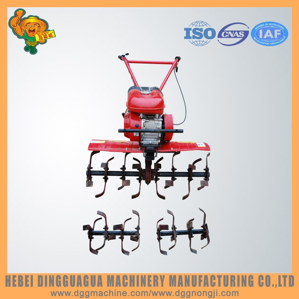 small ploughing machine rotary hoe agricultural machinery cultivator
