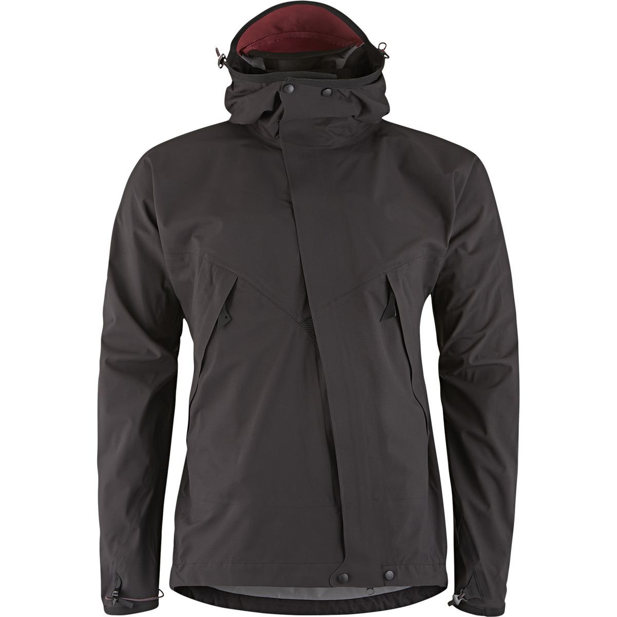 Marmot New Blue Ridge Fleece Jacket #8768 Mens Medium Black//Lava