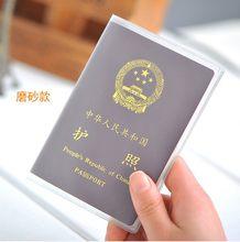Прозрачный чехол для паспорта, прозрачный водонепроницаемый чехол-кошелек для документов, удостоверений, паспорта, защитный чехол(Китай)