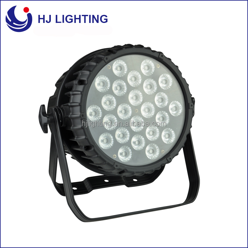 led stage lights par can 64 lamp 24X10w RGB 3in1 waterproof par can stage light for dj home party
