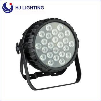 Led Podium Verlichting Par Kan 64 Lamp 24x10 W Rgb 3in1 Waterdichte ...
