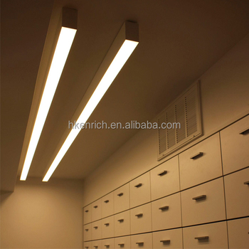 Indoor Suspension Lighting Led Linear Pendant Lights 1 2m 40w View Enrich Oem Product Details From Shenzhen Co Ltd