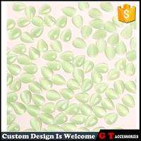 Wholesale Custom Shape Glass Beads For Findings Jewelry Making