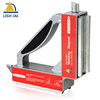 Lishuai Dual Switch Strong Welding Magnet 90 Degree Magnetic Welding Holder for Round and Flat Metal Fixture WM2-90S