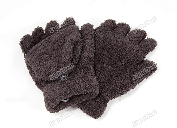 LightDeal upgrade Hot Fashion Womens Ladies Hand Wrist Warmer Winter Fingerless Gloves Household!