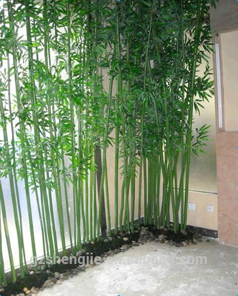 Artificial green bamboo fence for decoration buy cheap for Bamboo prezzo