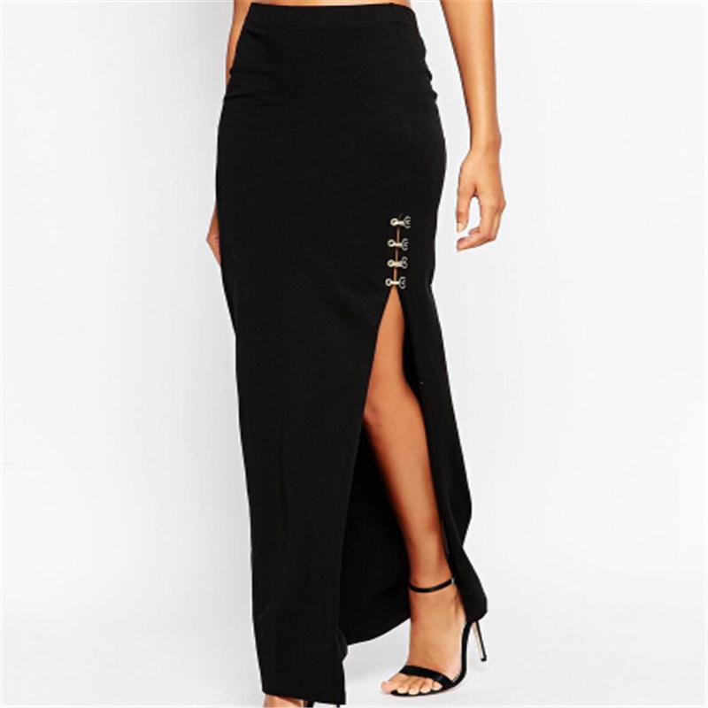 Long Split Skirt 89