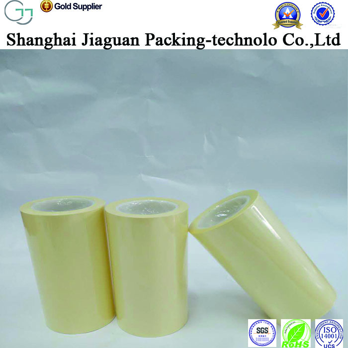 manufacture price 90-140g yellow silicone coated kraft paper roll