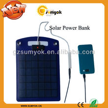 rechargeable & portable travel size solar panel charger for cell phone OS-FS0401