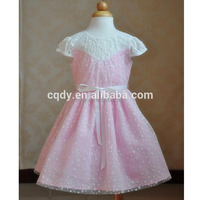 2015 latest girls fashion dress 10 years children kids lace frocks design dress for summer wear