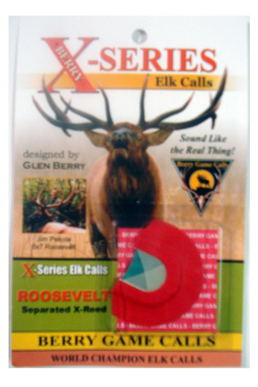X-series Elk Calls ~ Roosevelt Reed ~ Elk Hunting Reed Call ~ Berry Game Calls
