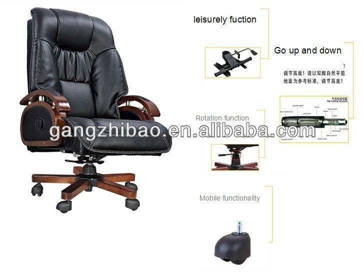Antik Leder Sessel Holz Basis Stuhl Fur Den Chef Ab 307 Buy