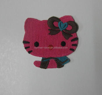 Crochet Cat Head Applique Patterns Buy Crochet Applique Patterns