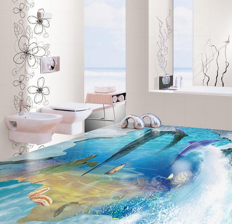 2015 nouveaux produits carrelage salle de bains 3d for Salle de bain sol 3d