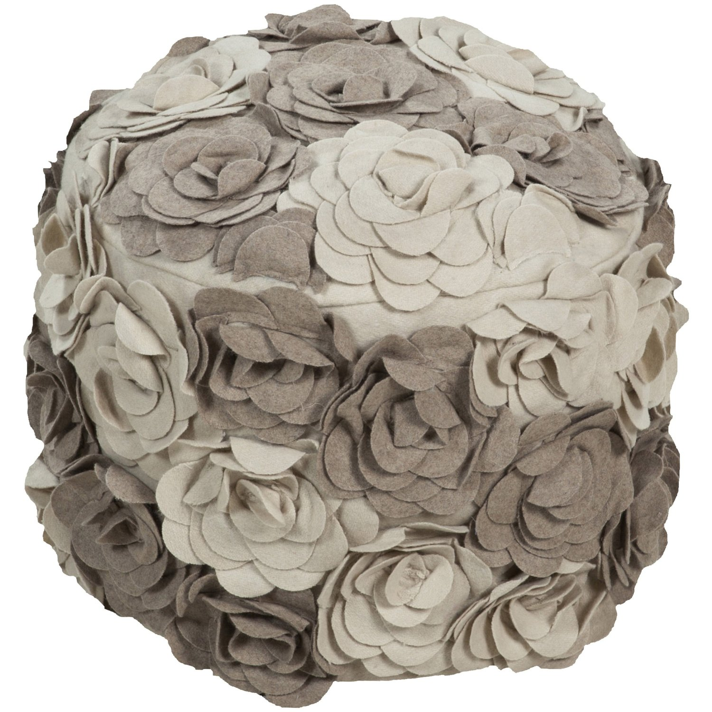 Amazing Buy 1 Piece Taupe Square Shaped Small Ottoman 18 Inch Creativecarmelina Interior Chair Design Creativecarmelinacom