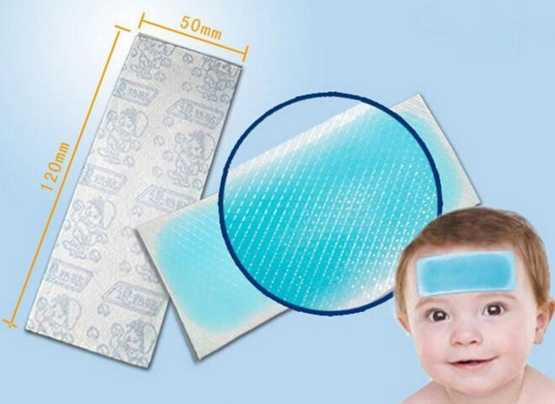 High quality fever cooling patch for baby adult disposible cooling pad