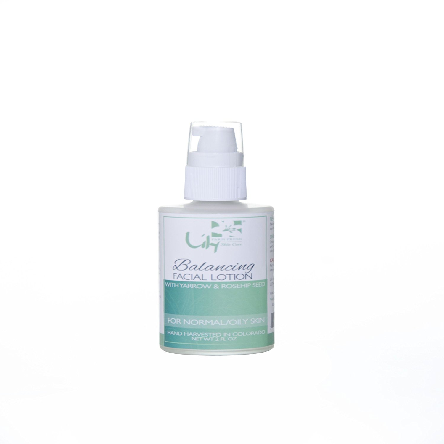 Lily Organics Facial Lotion Balancing Wrinkle Treatment for Oily to Normal Skin