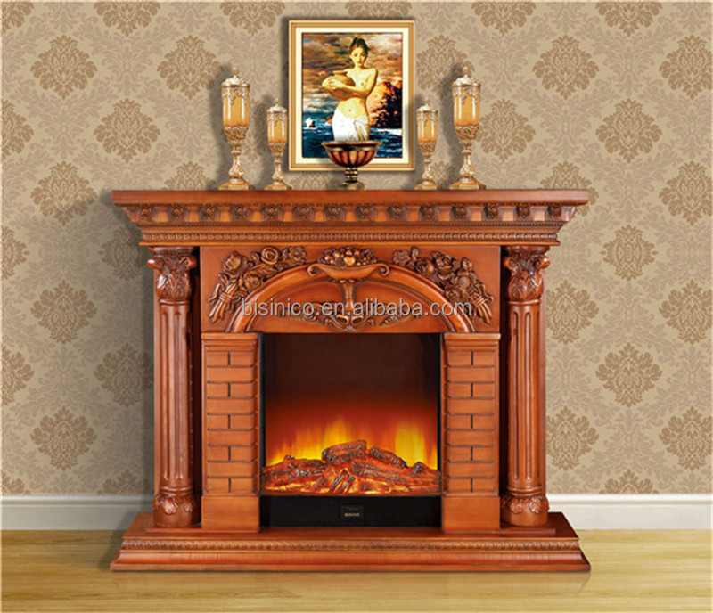 Fireplace Design antique fireplace surrounds : Palace Luxury Hand Painted Fireplace Mantel,Decorative French ...