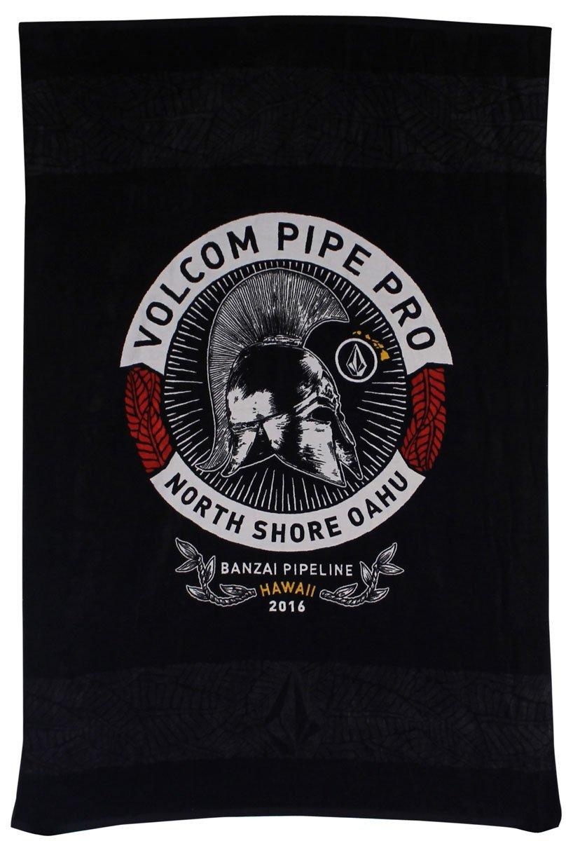 Volcom Bonzai Pipe Pro Beach Towel - Black