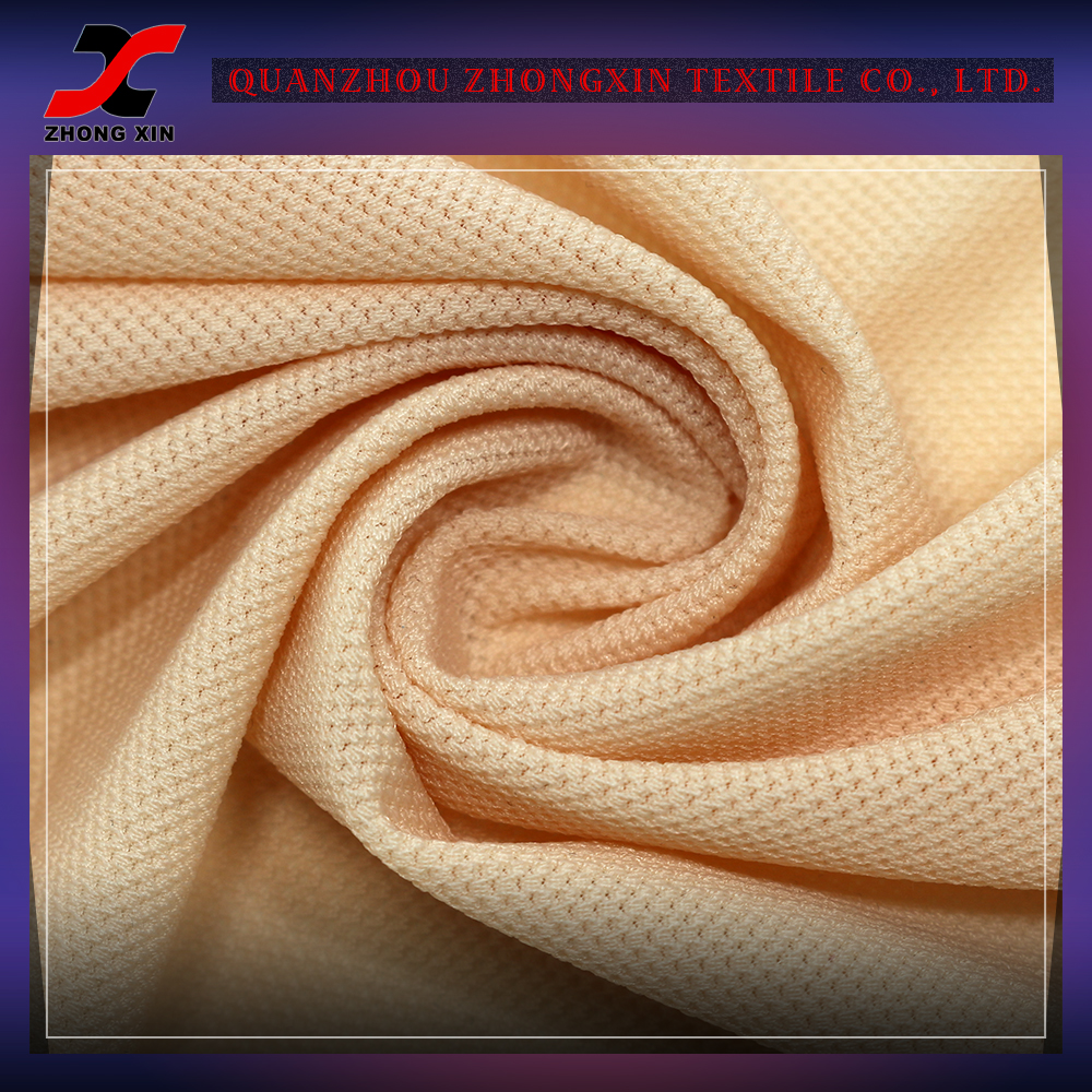 eco-friendly durable knitting air breathable nylon stretch fabric for track suit