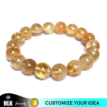 Semi Precious Stone Bridal Wear Natural Citrine Geodes Beads for Sale Prices Bracelet