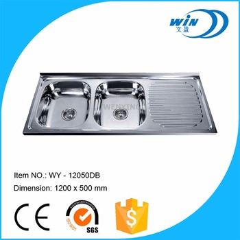 Wy-12050 China Sink Manufacturer Stainless Steel Kitchen - Buy ...