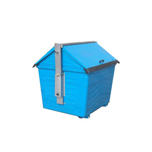 2400L metal pedal waste management container