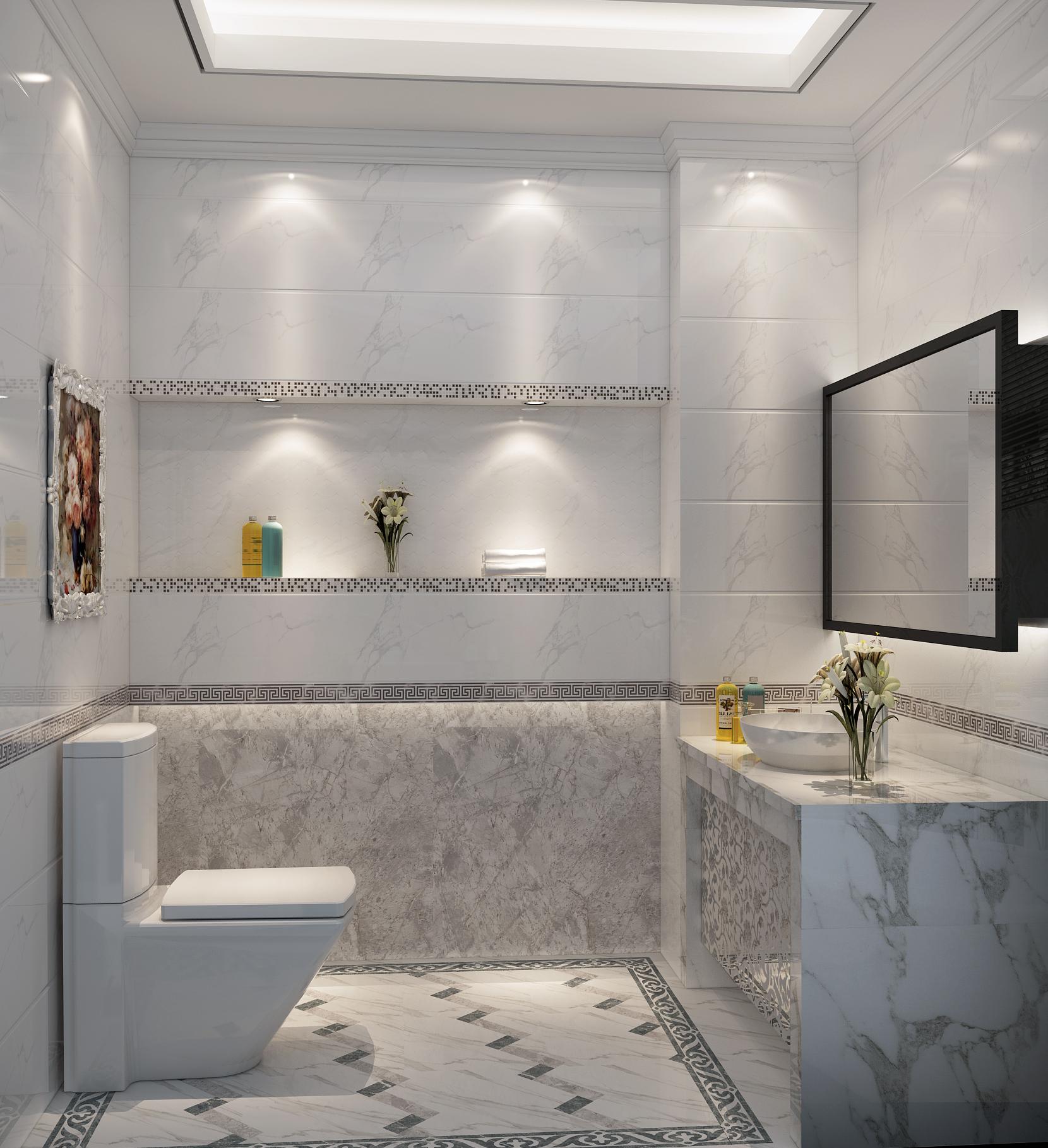 Bathroom Matte Finish Vitrified White Marble Look Rustic Porcelain Floor Ceramic Tile Buy White Marble Look Floor Ceramic Tile Matte Finish Vitrified Product On Alibaba Com