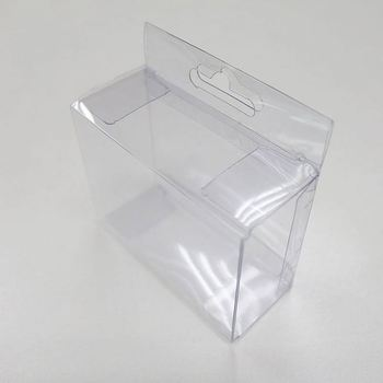 Promotional Clear Plastic Storage Box With Handle View Plastic