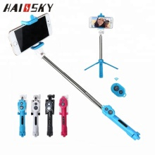 HAISSKY Popular New Design Wired Selfie Stick for Android and IOS System , Foldable Wholesale Selfie Stick Monopod