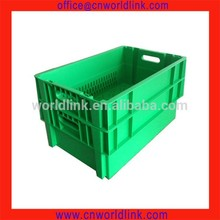 50kgs Food Grade Plastic Storage Stackable Crate for Meat