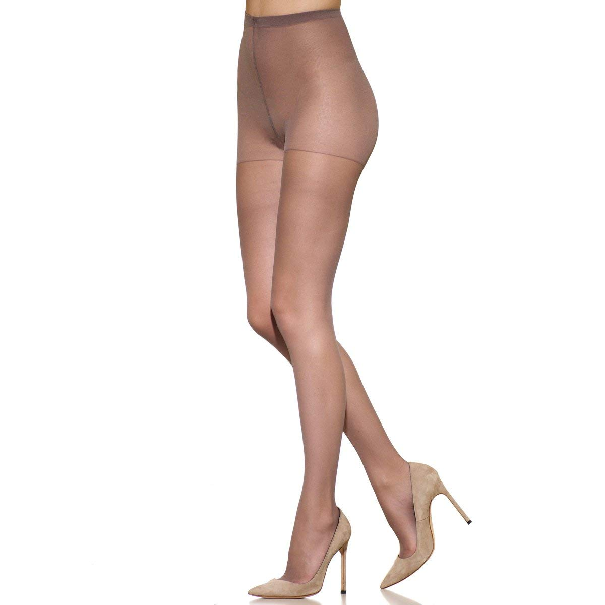 ad7daafbb86 Get Quotations · Silkies Women s TLC Total Leg Control Support Pantyhose