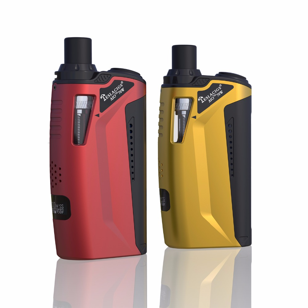 tesla aio 70w electronic products and components ecigarette with EOCC coil in pre-sale at reasonable price