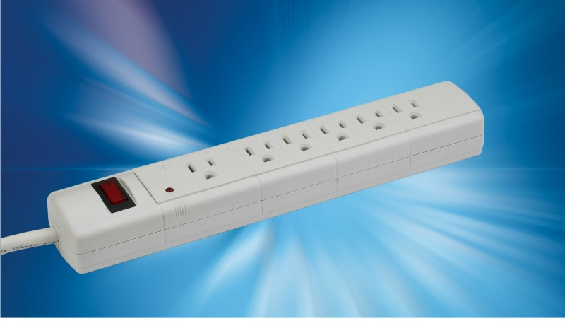 Upgrade Innovatieve US Power Strip/3 Pin ONS Elektrische Uitbreiding Socket/6 Outlet USA Power Strip