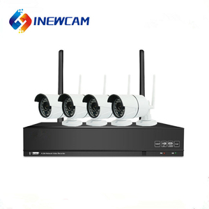 1080P CCTV Kit 4 Outdoor Wifi Camera Home Security Alarm and Wireless Camera System