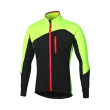 Hommes Manches Longues chaud polaire hiver Cyclisme <span class=keywords><strong>vélo</strong></span> Veste