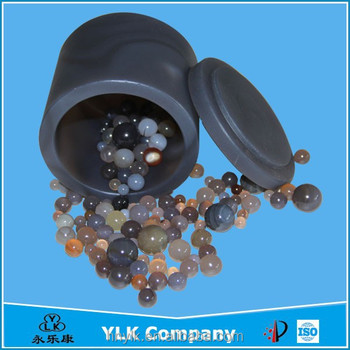 High Purity Agate Bead Ball Milling Tanks For Planetary Ball Mill ...