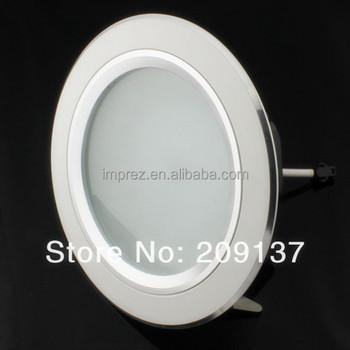 12w 1200lm ac85 265v commercial electric led recessed. Black Bedroom Furniture Sets. Home Design Ideas