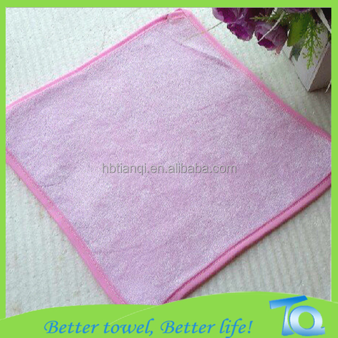 Bamboo Hand Wash Towel For Baby with binding