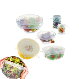 BPA Free Microwave Food Savers Cover Stretchable Stretch Silicone Lids Reusable Non Plastic Bowl Wrap for cups areus