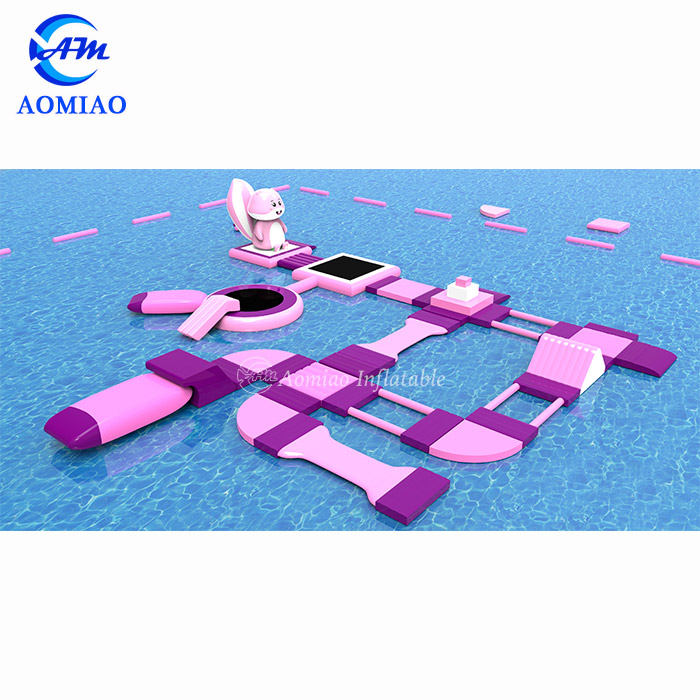 Commercial Giant Water Amusement Park Playground Games Adults Floating Inflatable Water Park For Sale