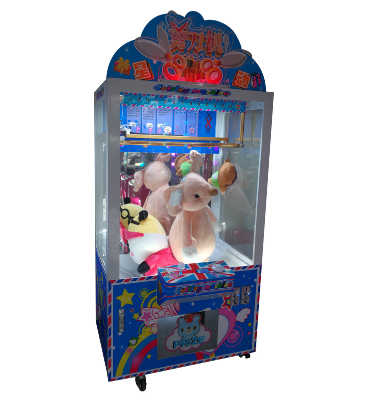 scissor cutting prize game machine manufacturer
