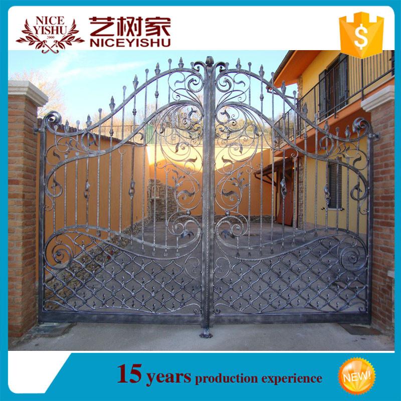 Boundary door designs garden for Small home main door