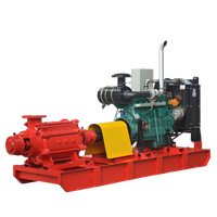 Nfpa 20 Standard Best Quality China Professional Factory Direct Sale New Design Driven Diesel Engine Multistage Centrifugal Pump