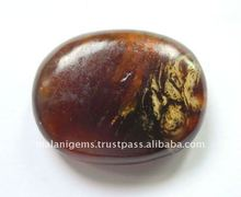 Natural Amber Oval Shape Loose Stone