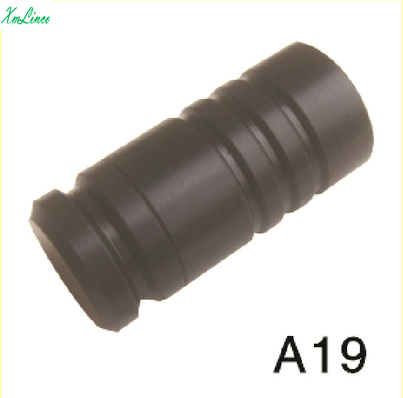Wholesale black plastic Pool Cue stick Joint Protector